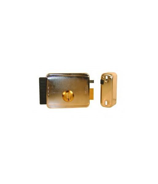 serrure lectrique droite p ne rentrant avec cylindre. Black Bedroom Furniture Sets. Home Design Ideas