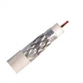 Câble coaxial pour intérieur 17 VATC - Classe A - Full HD 4K - PVC - blanc - (vendu au mètre)