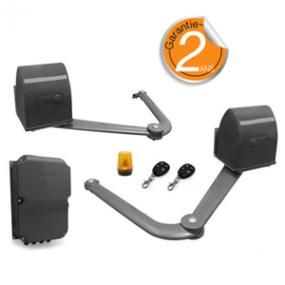 Kit motorisation B250 à bras articulés - Pour portail à 2 battants