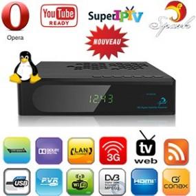 Terminal numérique Linux HD PVR - DVB-S2 S1700 HD